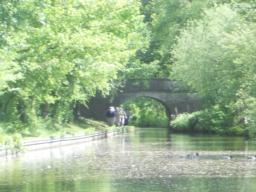 Continue on the towpath and pass Bridge No. 56.