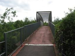 Bridge on alternative access walk.
