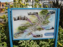 Information board for ilfracombe