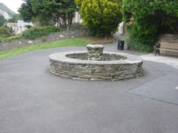 Water feature turned off at time of survey