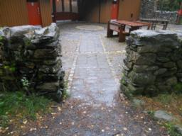 The entrance way into the Visitors Centre is wide enough to allow wheelchair access.