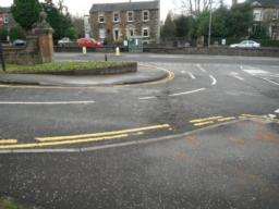 There are dropped kerbs at this crossing point.