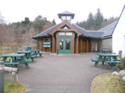 A picnic area is located outside the Visitors Centre. The design and location of the benches is limiting to wheelchair users.