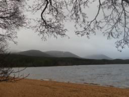 View across Loch Morlich.