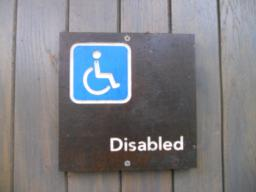 Accessible toilets are provided here.