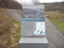 Interpretation board at the far-end of the Lochan.