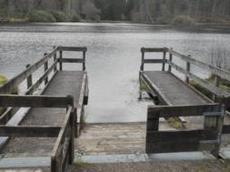 A jetty provides disabled access.
