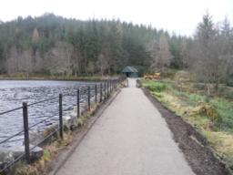 Continue towards the boat house then turn right to retrace your steps down to the car park.