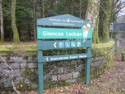 Glencoe is the nearest town or village.