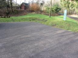 Accessible parking is made available in a separate area, located nearest the forest trail.