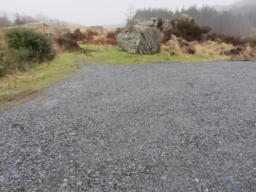 There is a small car park situated at the start of the trail. The car park has enough space for about three vehicles. No spaces are reserved for visitors with disabilities.