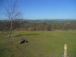 View from Ifton Meadows summit.