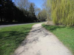 Paths are surfaced, wide and contain only very minor gradients.