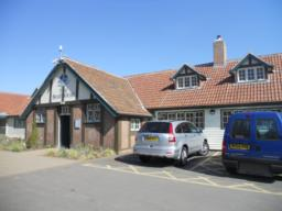 The Visitors Centre has two accessible parking areas.