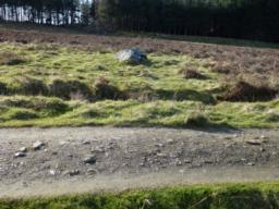 Cup marked stone 5m off path to north