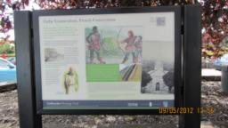 Information boards in Meadows car park tell you about the history of the area and about the Meadows path itself. You can pick up leaflets near by.