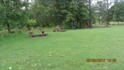 There are plenty of benches here. It's a great spot for a picnic.