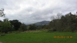You get a great view of Ben Ledi from here.