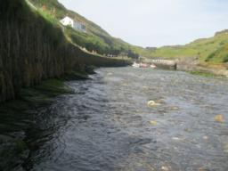a view from the bottom of the southern slipway