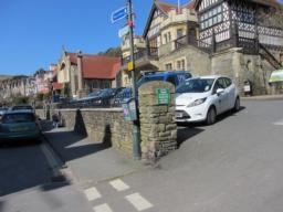 Town Hall and Exmoor National Park information.