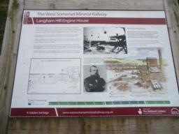 Langham Hill Engine House Site Noticeboard