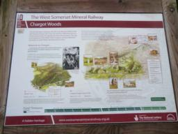 Starting point - the Information Board, Chargot Woods Car Park