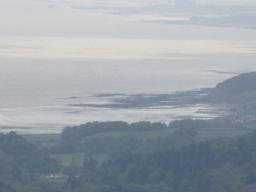 Superb views from Beacon to Porlock, Bristol Chanel, the islands of Flat Holme and Steep Holme and South Wales.
