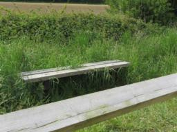 Seat on Tarka Trail.