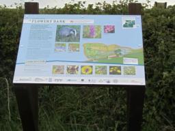 Information board.