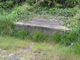 Seating area on Tarka Trail.