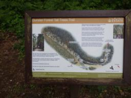 There is an information board for the trail close to the car park.