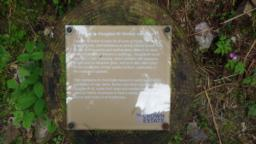 There is another information plaque.