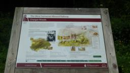 The Information board in the car park. For further information on other Mineral Line walks visit the website: www.wsmla.org.uk