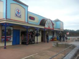 Teignmouth's Grand Pier was built between 1865 and 1867 and is over 210 metres long.