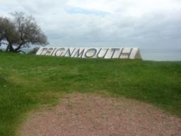 The Teigmouth Sign at Sprey Point.