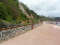 Sprey Point was created by Brunel in the mid 1840s to enable materials to be brought directly by boat to the construction site of the South Devon Railway.