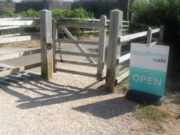 Another accessible gate.
