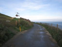 The path and seaward fence has been recently renovated.