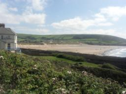 This is the view looking back towards Croyde.