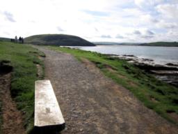 A lovely opportunity to view the Camel Estuary. Watch out for the speedboats in summer.