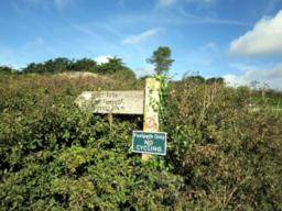 The South West Coast Path signpost