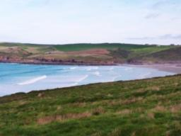 The view back to Polzeath beach