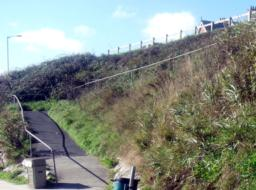 The last slope back up to Hannafore Road.