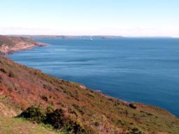 Looking towards Plymouth Sound.