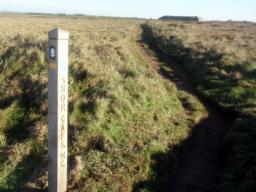 There is an alternative path back to the car park.