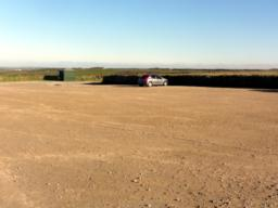 The car park in mid November was almost empty. It's not like this in mid summer!