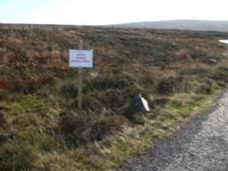 Good mobile signal  signed mostly off the tarmac path and very limited elsewhere
