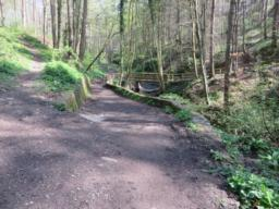 Further views of Percy Beck; path consists of compacted/loose gravel in parts.