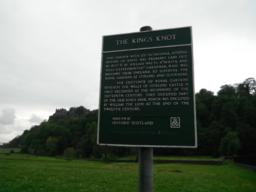 Information board about the King's Knot.