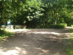 The trail starts at the car park provided for blue badge holders